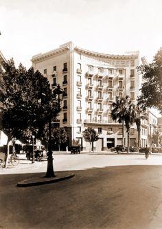 Downtown Cairo, circa 1924