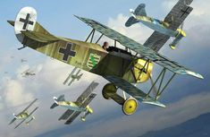 Fokker D.VII (Eduard box art) ~ BFD