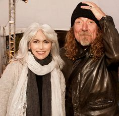Emmylou Harris and Robert Plant at Hardly Strictly Bluegrass Festival in 2009 (by Jay Blakesberg)