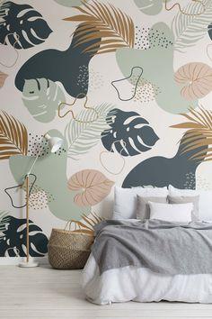 Wall Painting Decor, Mural Wall Art, Wall Painting For Bedroom, Painted Wall Murals, Wall Paintings, Bedroom Murals, Bedroom Decor, Bathroom Mural, Kids Room Murals
