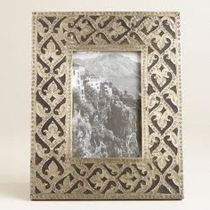 One of my favorite discoveries at WorldMarket.com: Scroll Pewter Metal Samara Frame