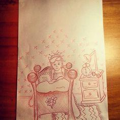 Sleepyhead illustration