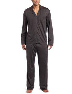 American Essentials Men s Sleepwear Premium Silk Cotton 2-Piece Pajama Set  « Clothing Impulse Mens 110b82fb3