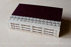 Handmade Book by Johwey Redington pic only - beautiful binding and I like the incorporation of the buttons