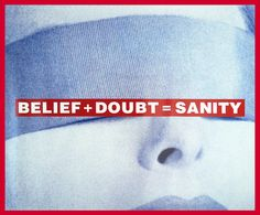 Bid now on Untitled (Belief + Doubt = Sanity) by Barbara Kruger. View a wide Variety of artworks by Barbara Kruger, now available for sale on artnet Auctions. Barbara Kruger Art, Culture Jamming, New Lyrics, Feminist Art, Jewish Art, Conceptual Art, American Artists, Wise Words, Photography