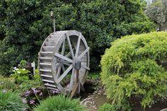 Cwmbran Landscape Gardeners Water Wheel