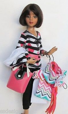 """She shopped Till She Dropped Yet Again (Mix n Match pcs) for 16"""" Ellowyne Made by Ssdesigns 