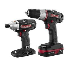 Craftsman  C3 2-Piece Lithium-Ion Drill and Impact Driver Kit