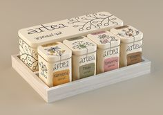 Artea | Tea package on Behance