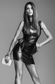 Alessia Ventura posa per il Catalogo Denny Rose - Primavera Estate 2012