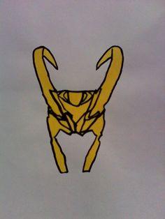 Loki's helmet by miranda♥