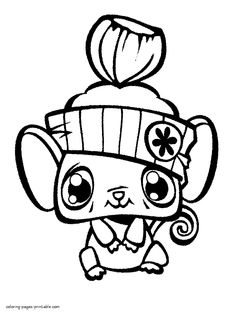 Littlest Pet Shop 2 Coloring Pages Printable And Book To Print For Free Find More Online Kids Adults Of
