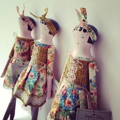 Sophie Tilley dolls.