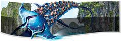 On Manta, you can soar, dive and twist like a ray on our first multi-media double-launch coaster at SeaWorld San Diego