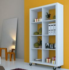 Bookcase Room Divider Cube
