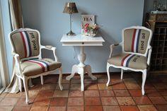 PTT POST chairs by Drie Meubelambachten