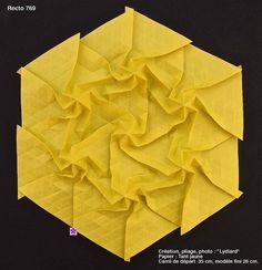 pretty origami tessellations