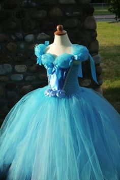 Cinderella inspired tutu dress,