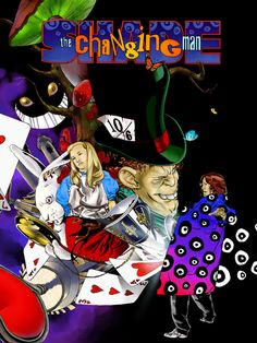 Shade the Changing Man, Wonderland Warped by ~Gazukiel on deviantART