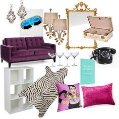 Holly Golightly's Apartment Inspiration - apartment decor ideas Breakfast at Tiffany's