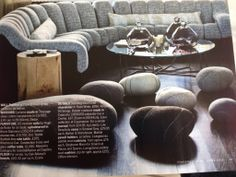 Really like the pebble cushions