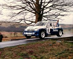 """Welsh Rally 1986 Jimmy Mcrae. 6R4"