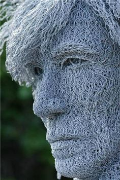 Wire sculpture.-Sculptor gamalalkawwa2012 & Sculpture artists