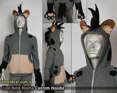 Costume model Hyena