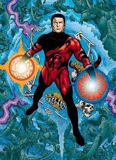 Tempest.  Formerly Aqualad.  Art by Phil Jimenez.