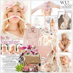 """769. Nasty Gal Crazy Love Valentine's Day 2013 Lookbook"" by chocolatepumma ❤ liked on Polyvore"
