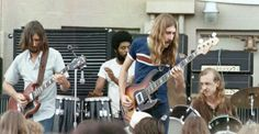 The Allman Brothers Band at Audubon Park, Free Concert, New Orleans, La. , Sunday, August 23, 1970