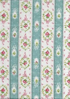 ONE Sweet Vintage Sheet Fat Quarter, Vintage Floral Fabric, Vintage Fabric, Reclaimed Fabric, Sewing Supplies, Quilt Supplies, RPR18