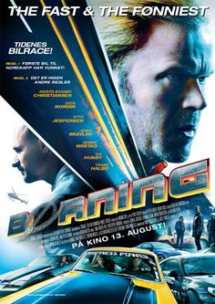 """""""Børning"""" - a fun, beautiful and cool Norwegian racing film, somewhat inspired by The Cannonball Run & The Fast and The Furious. 2020 Movies, Hd Movies, Film Movie, Movies To Watch, Movies And Tv Shows, Funny Car Racing, Norway Language, Man Of War, Youtube Movies"""