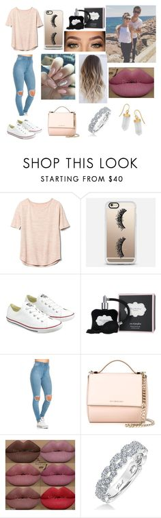 """Spring Day With Zoella & Alfie"" by nataliec13 ❤ liked on Polyvore featuring Gap, Casetify, Converse, Victoria's Secret, LORAC, Givenchy, Kylie Cosmetics, Karl Lagerfeld and BillyTheTree"
