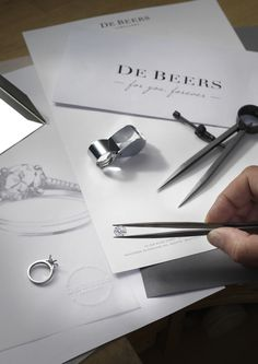 Every diamond engagement ring is individually  hand crafted. #ForYouForever