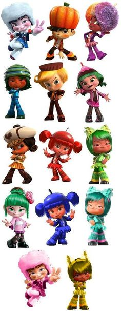 Wreck-It-Ralph Sugar Rushers