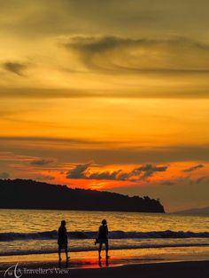 Sunset on Cenang Beach, Langkawi, Malaysia