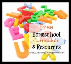 Here's a HUGE list of Free Homeschool Curriculum & Resources!
