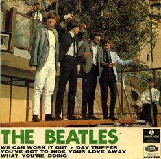 the beatles we can work it out - Yahoo Image Search Results Beatles Album Covers, Beatles Albums, Music Covers, Cd Cover Art, Lp Cover, Beatles Singles, Lennon And Mccartney, The Fab Four, Ringo Starr