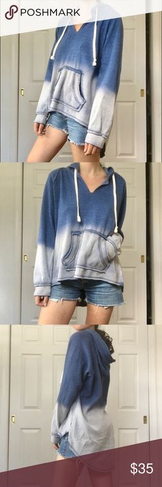 Vintage Havana gradient hoodie EXTREMELY SOFT AND COZY hoodie - preloved without flaws! This is a large but I am a size small so this just depends on what size fit you want. Vintage Havana Tops Sweatshirts & Hoodies