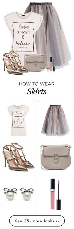 """The skirt"" by yanina-kolyvanova on Polyvore"