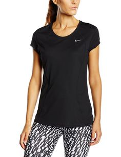 Details about Nike Dri Fit Women's Crew neck Tee