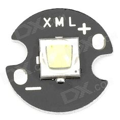 Brand: CREE; Model: XM-L2; Color: Black; Quantity: 1; Material: Aluminium alloy + LED; Emitter Brand: CREE; Emitter Model: XM-L2 U3; Output Power: 10W; Luminous Flux: 700lm; Base Size: 14mm; Driving Current: 1000~3000mA; Voltage: 3.7V; Application: Flashlight accessory; Other Feature: Color temperature: 8000~8300K; Packing List: 1 x LED emitter; http://j.mp/1naYHHr