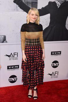 Emma Stone fashion  - Week in celebrity photos June 5-9