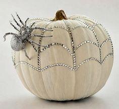 #bling #white #pumpkin