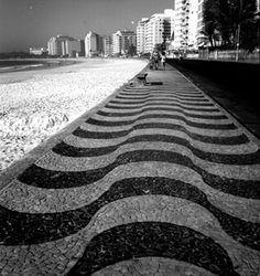 Copacabana, Rio de Janeiro Brasil  by Pierre Verger