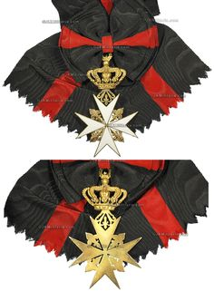 Grand Cross with Riband of a Knight Grand Cross of Magistral Grace. #OrderofMalta #SMOM