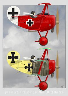 Brothers Richthofen aircraft desig You are in the right place about Aircraft Here we offer you the most beautiful pictures about the Aircraft painting you are looking f Airplane Humor, Airplane Art, Caricatures, Cartoon Plane, Airplane Fighter, Air Force Aircraft, Aircraft Painting, Aircraft Design, Aviation Art