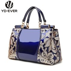 Cheap Top-Handle Bags, Buy Directly from China new patent leather women handbag brand shoulder bag luxury fashion tote Clutch Sequins design patent messenger bag Source by Bags designer Designer Messenger Bags, Patent Leather Handbags, Leather Satchel, Leather Luggage, Luxury Handbags, Designer Handbags, Women's Handbags, Designer Bags, Ladies Handbags