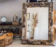 Driftwood Mirror, Oversized Mirror, Furniture, Home Decor, Art, Art Background, Decoration Home, Room Decor, Kunst